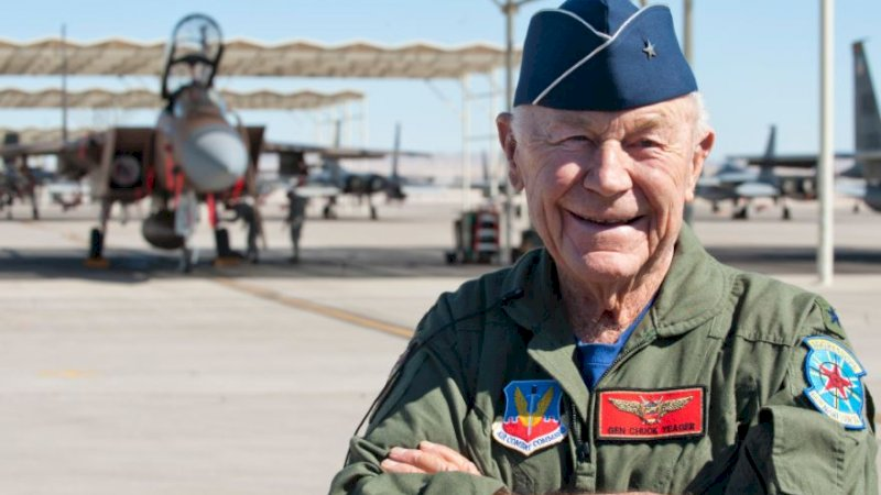 Chuck Yeager. (Foto: Earth Sky)
