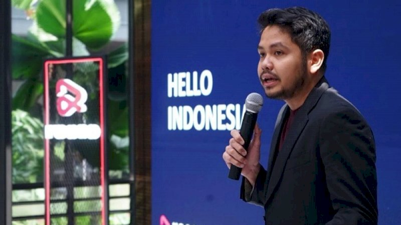 Head of Music and Content Resso Indonesia, Christo Putra.