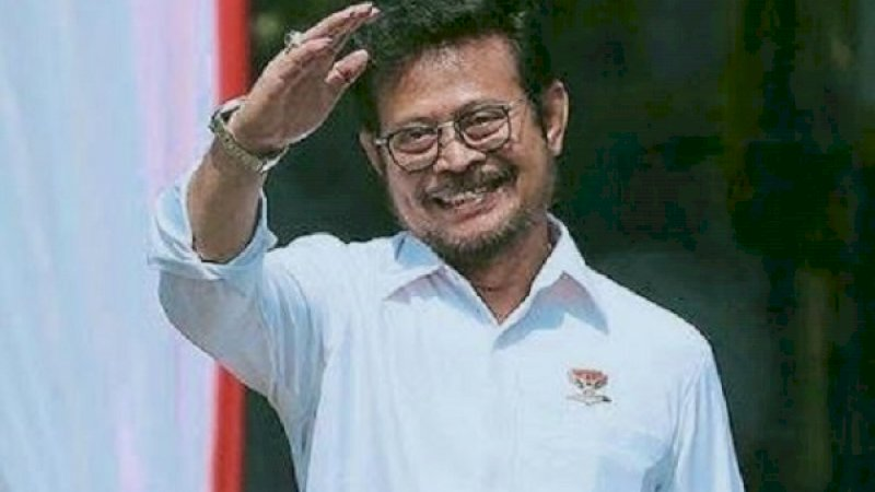 Menteri Pertanian Republik Indonesia, Syahrul Yasin Limpo.