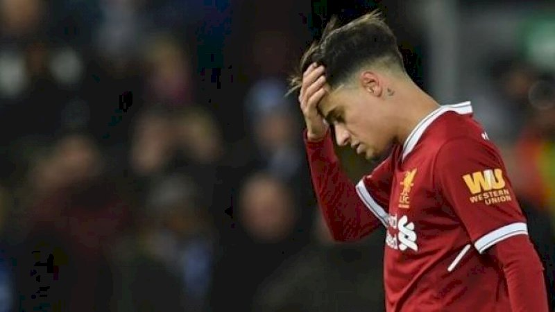 Pemain Liverpool Philippe Coutinho [AFP]